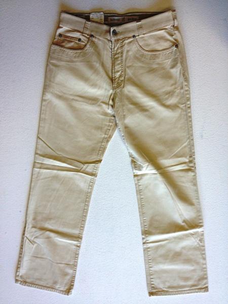 gardeur stretch jeans hose beige uni gr 48 l30 ebay. Black Bedroom Furniture Sets. Home Design Ideas