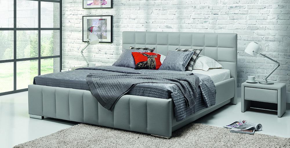 design luxus lounge polsterbett doppelbett futon bett leder wei sl16 neu ebay. Black Bedroom Furniture Sets. Home Design Ideas