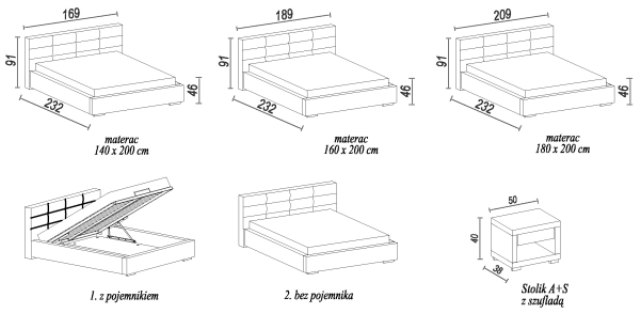 design luxus lounge polsterbett doppelbett futon bett. Black Bedroom Furniture Sets. Home Design Ideas