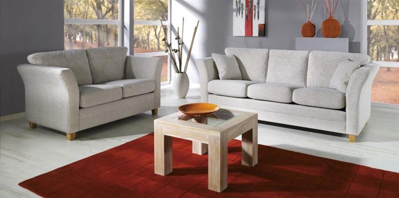 Design Luxus Lounge Sofa Landschaft Couch Polster Garnitur Stoff Grau Sl02 Neu Ebay