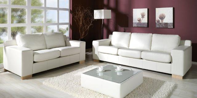 Design Luxus Lounge Sofa Landschaft Couch Polster Garnitur Leder Wei Sl03 Neu Ebay