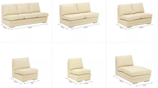 Design Luxus Lounge Sofa Landschaft Couch Polster Garnitur Leder Beige Sl08 Neu Ebay