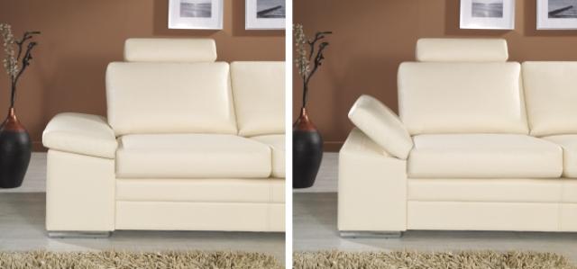 design luxus lounge sofa landschaft couch polster garnitur leder beige sl08 neu ebay. Black Bedroom Furniture Sets. Home Design Ideas