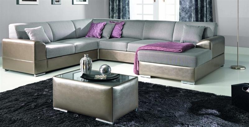 Design Luxus Lounge Sofa Landschaft Couch Polster Garnitur Leder Braun SL10 NEU!  eBay