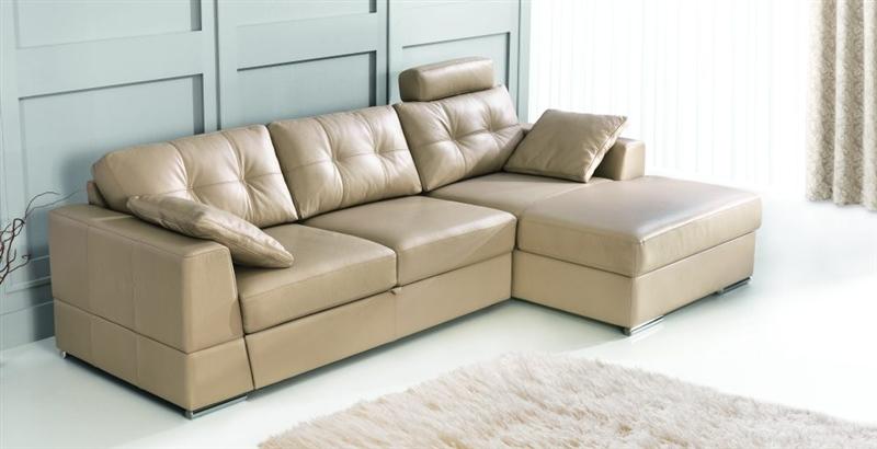 Design Luxus Lounge Sofa Landschaft Couch Polster Garnitur Leder Braun Sl12 Neu Ebay