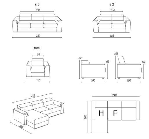 Design Luxus Lounge Sofa Landschaft Couch Polster Garnitur Leder Braun Sl23 Neu Ebay