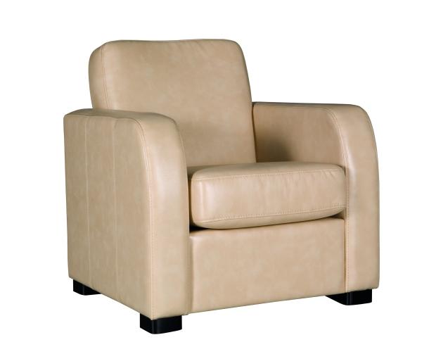 Design Luxus Sessel Lounge Sofa Couch Polster Sitz Leder Beige Sl04 Neu Ebay