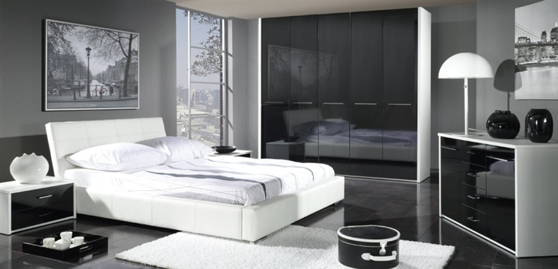 design luxus schlafzimmer set stilm bel edelholz komplett wei schwarz sl16 neu ebay. Black Bedroom Furniture Sets. Home Design Ideas