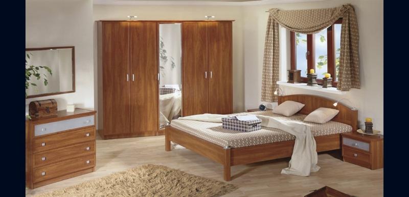 Design Luxus Schlafzimmer Set Stilmöbel Edelholz Komplett Braun SL28 NEU!  eBay