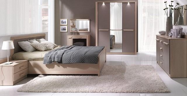 design luxus schlafzimmer set stilm bel edelholz komplett braun sl36 neu ebay. Black Bedroom Furniture Sets. Home Design Ideas